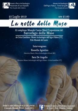 La notte delle Muse Sarcofago delle Muse