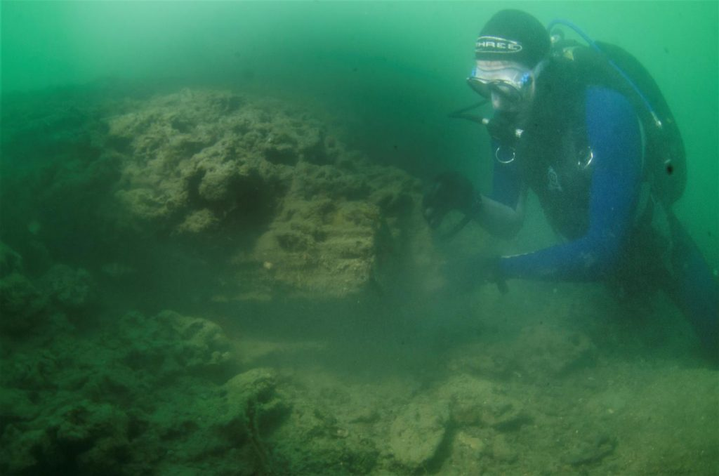 Stone Age boat