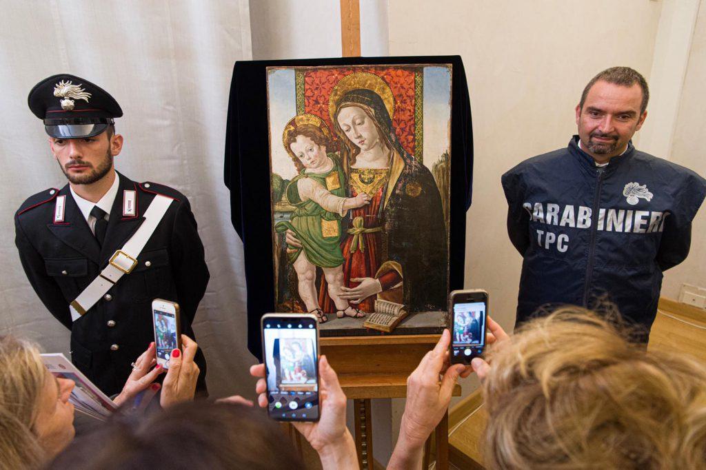 Madonna col Bambino Pinturicchio