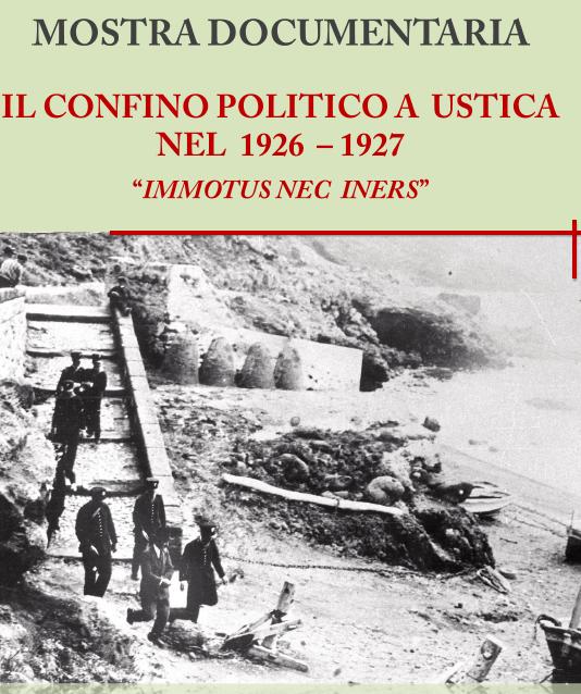 mostra confino politico Ustica