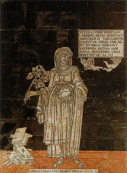 Duomo di Siena Sibilla Cumana