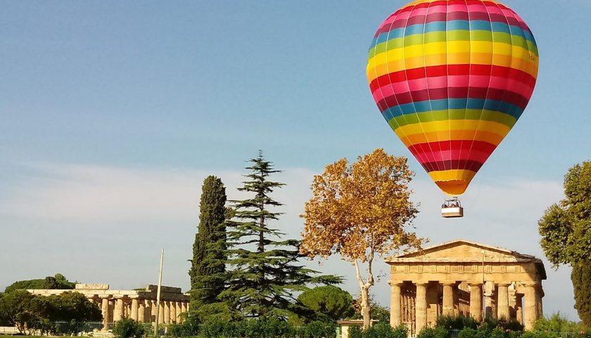 Festival delle Mongolfiere Parco Archeologico di Paestum