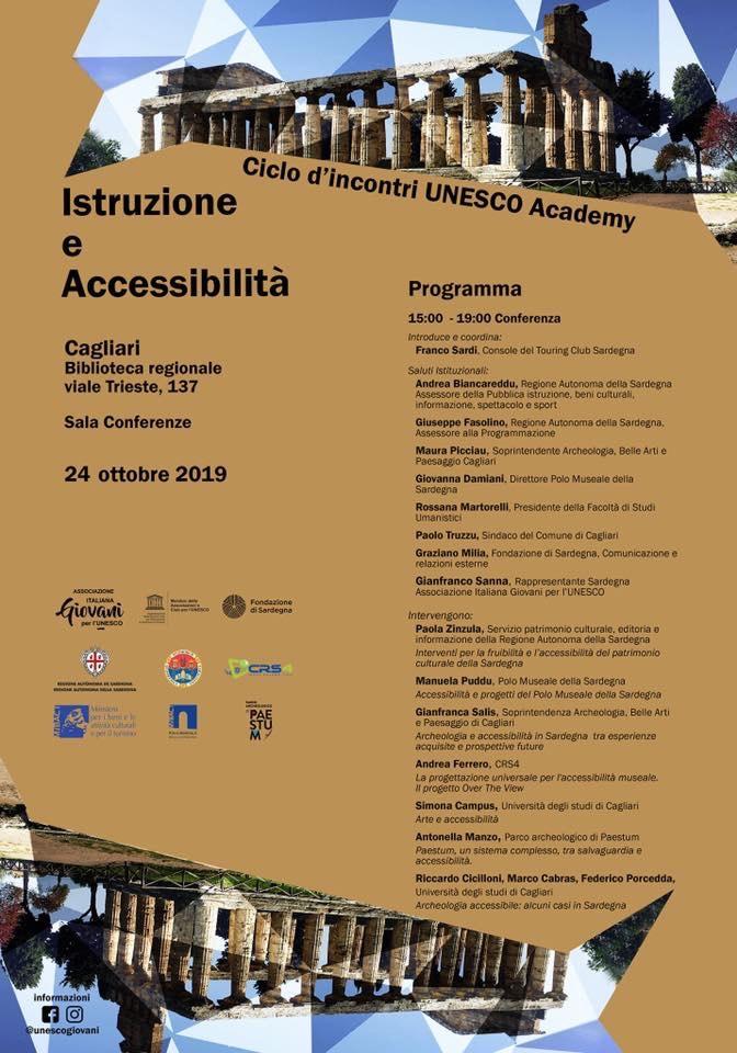 UNESCO Academy Cagliari Istruzione accessibilità