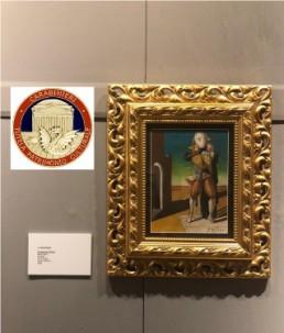impossibile noto Giorgio de Chirico