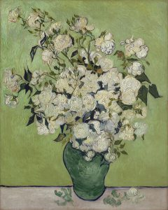 Vincent Van Gogh rosa decolorazione