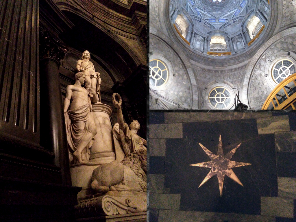 restauro Cappella Sindone