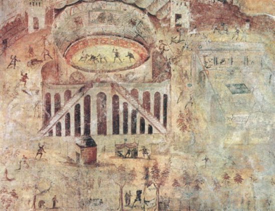 anfiteatro Pompei Nocerini Pompeiani