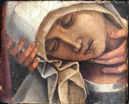 Compianto Cristo morto Luca Signorelli Vergine dolente