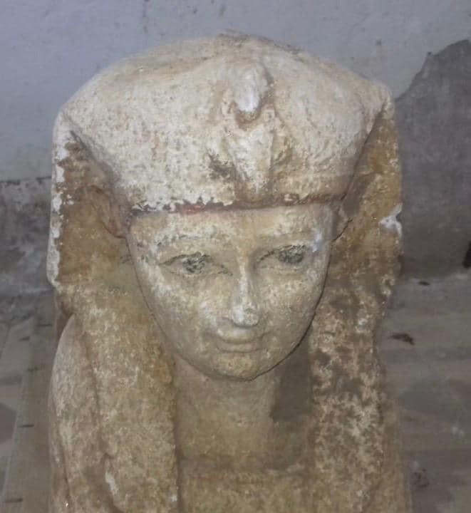 sfinge Tuna el-Gebel