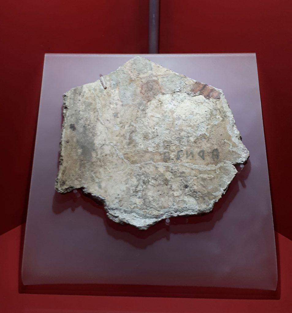 Frammento di affresco dalla Tomba François