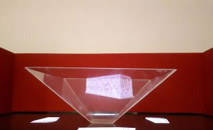 Ologramma del Sarcofago dalla Tomba delle Iscrizioni - Vulci