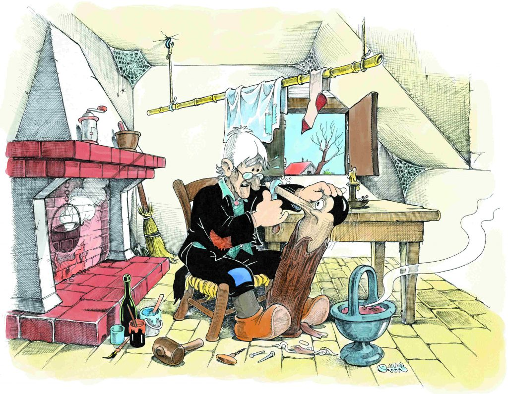 Dalì Jacovitti Alice Pinocchio