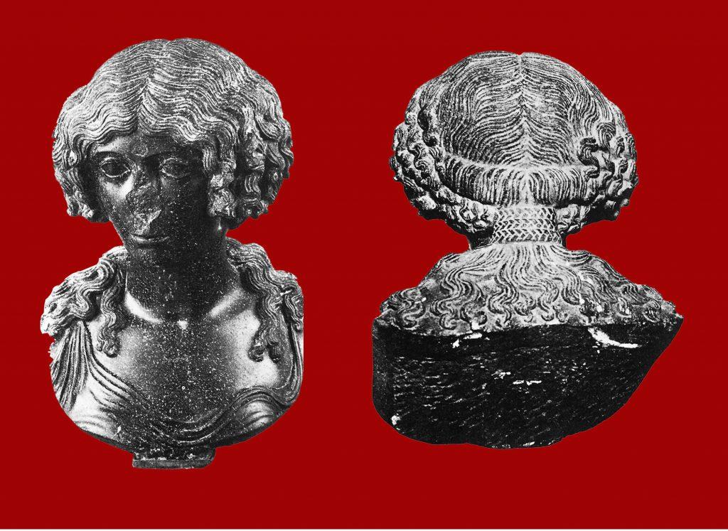 busto femminile basanite