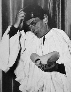 Eduardo De Filippo poesia Pulcinella