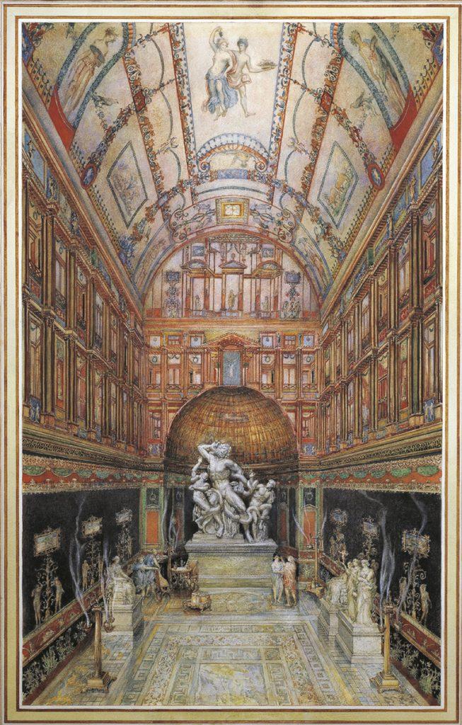 Raffaello Domus Aurea Laooconte