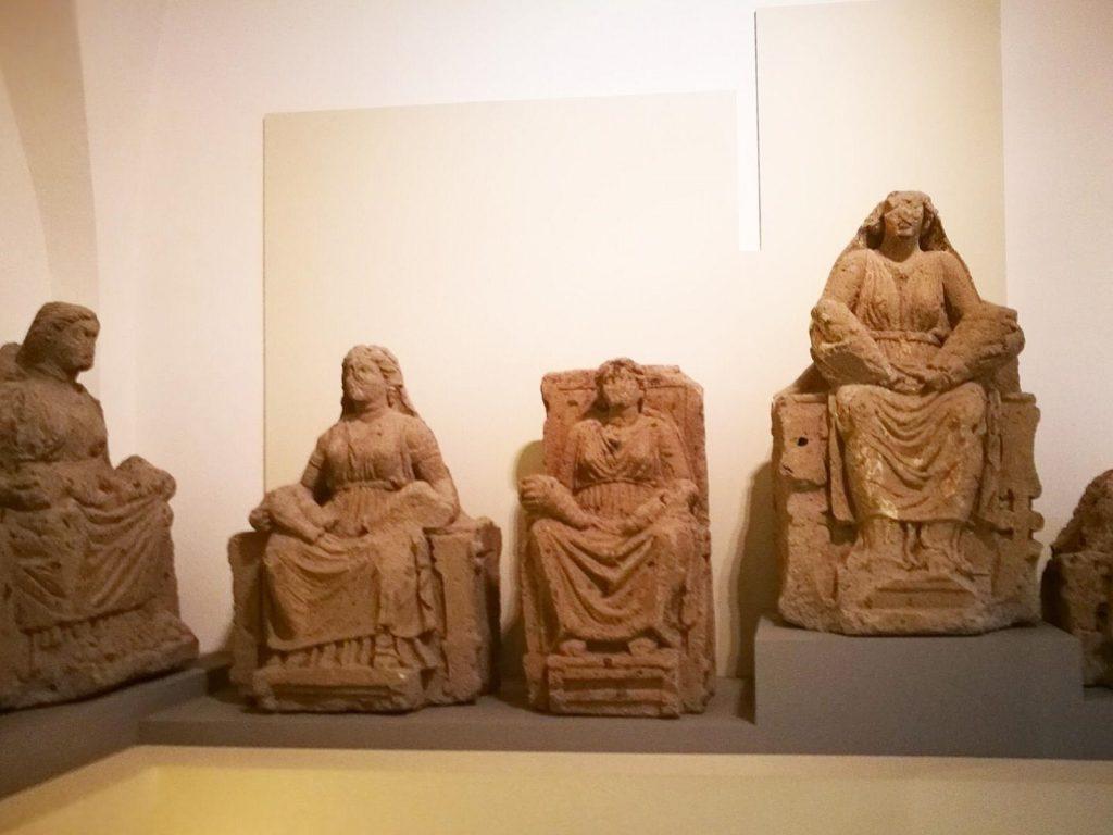 Mater Matuta matres capuane Museo Campano di Capua