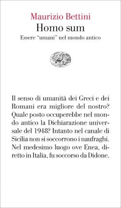 umanità lacrime Maurizio Bettini Homo sum