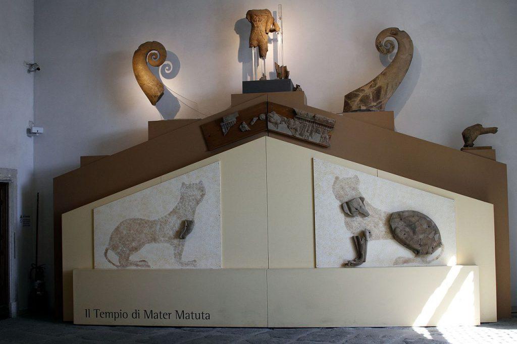 tempio di Mater Matuta Roma