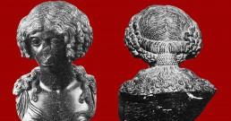 busto femminile in basanite età claudia