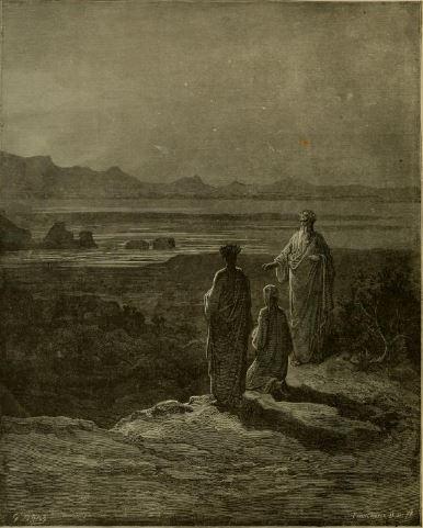 Catone Purgatory Dante Gustave Doré