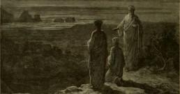 Catone Purgatory Dante Gustav Dorè