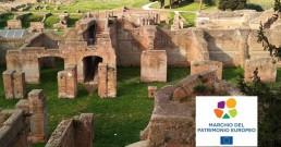 Marchio del Patrimonio Europeo Parco Archeologico di Ostia Antica