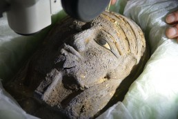 Saqqara Didibastet Niut-shiae Laboratorio di mummificazione