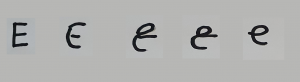 scrittura minuscola