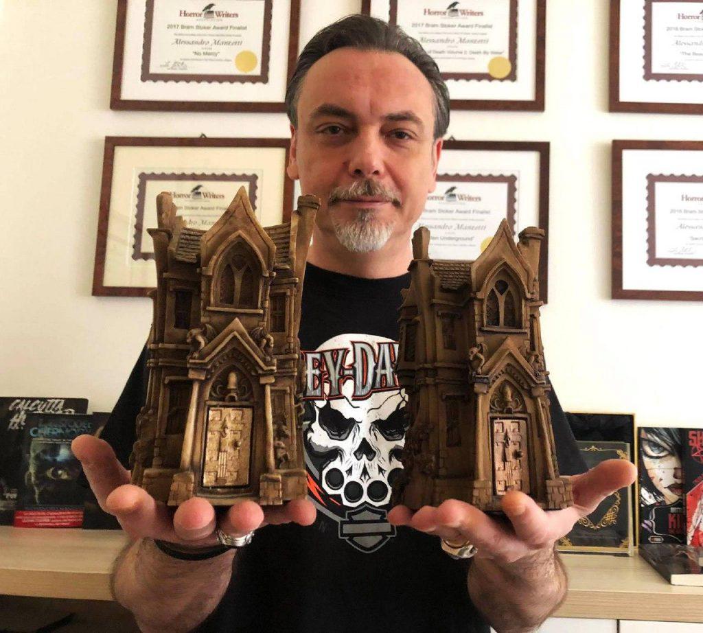 Manzetti Bram Stoker Award