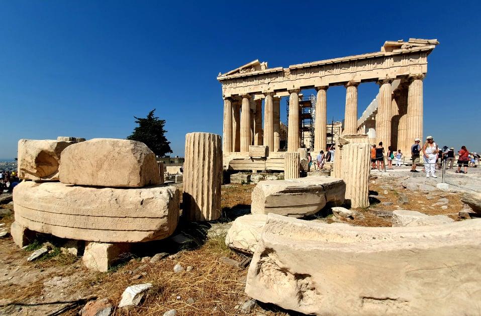 Storia Partenone Acropoli di Atene
