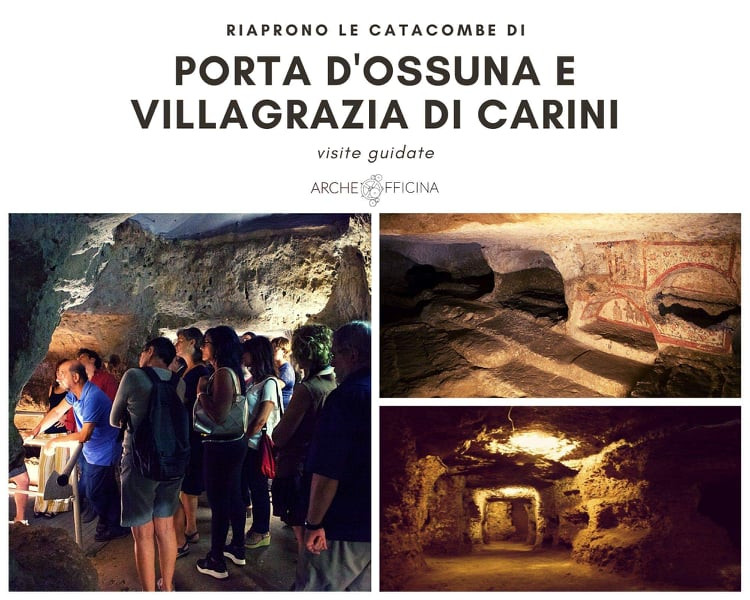 riapertura catacombe Porta d'Ossuna Villagrazia di Carini Palermo