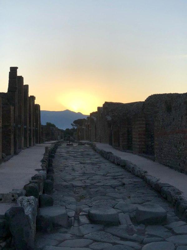 Pompei solstizio estate
