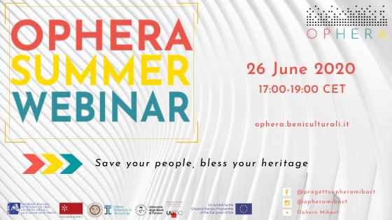 OPHERA Summer Webinar