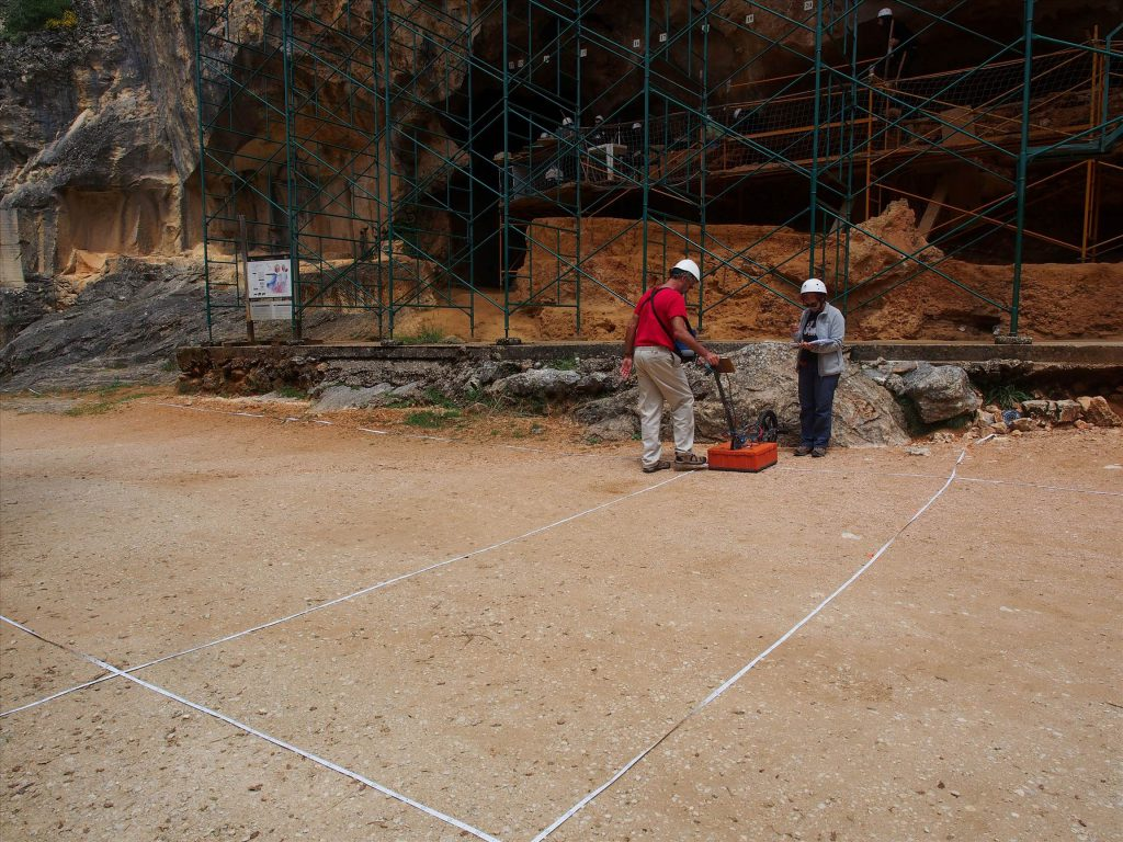 georadar Sierra de Atapuerca