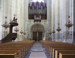 organo incendio cattedrale nantes