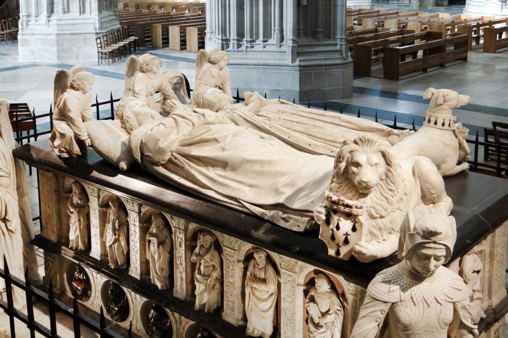 momumento funebre di Francesco II di Bretagna e Margherita di Foix
