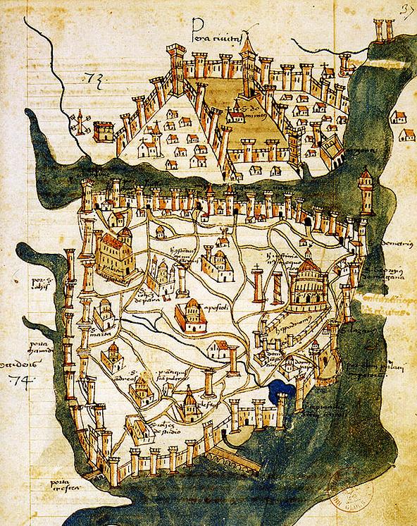 Viaggio di Carlomagno in Oriente Costantinopoli