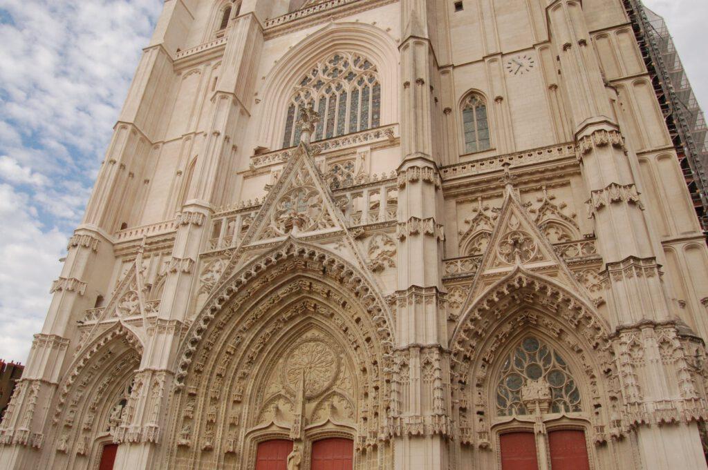 cattedrale nantes prima dell'incendio