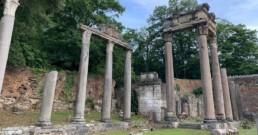 Temple of Augustus Leptis Magna Surrey