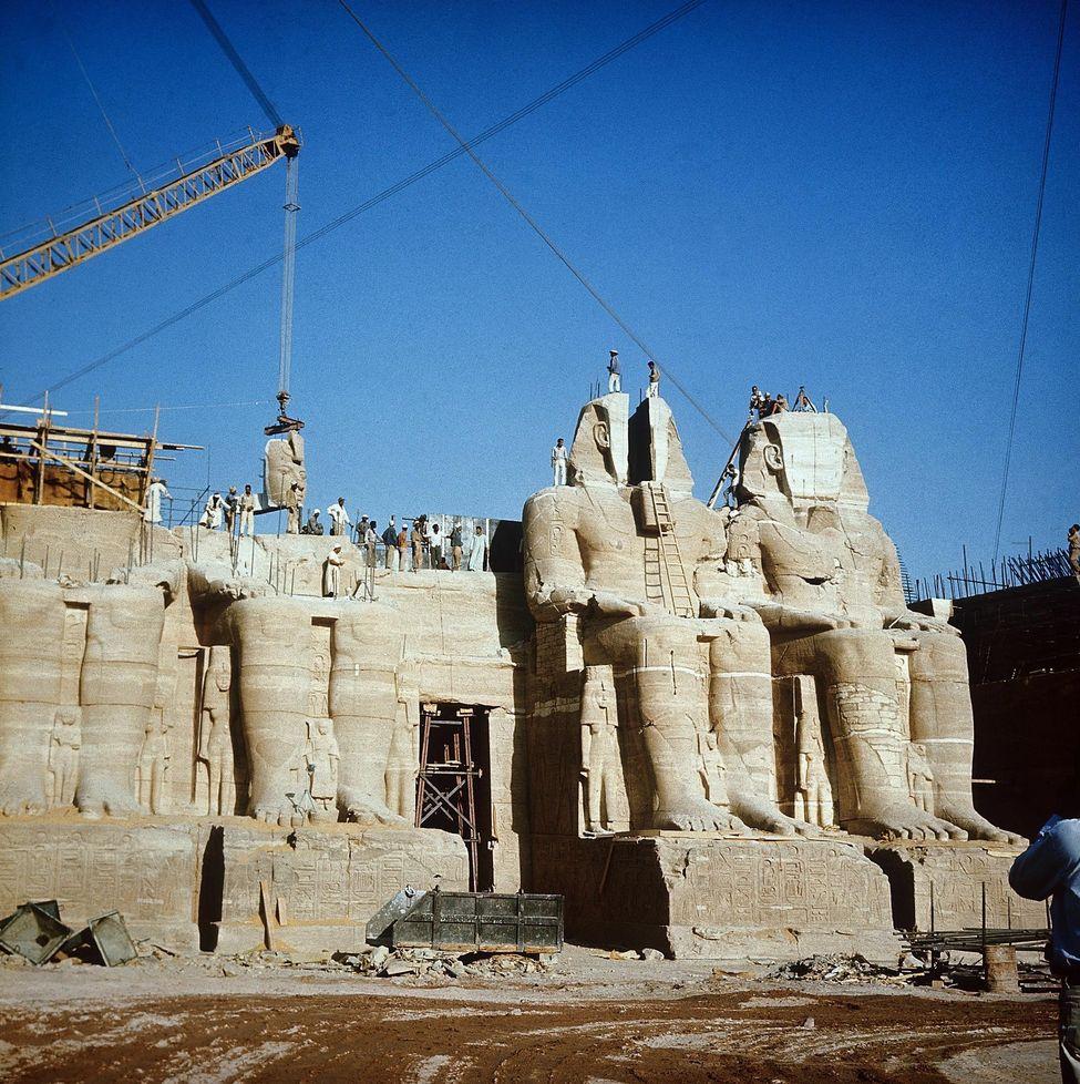 Egitto Nilo salvati