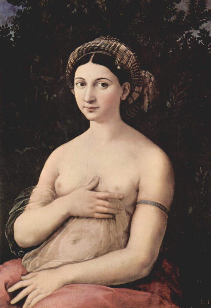 Raffaello Sanzio La Fornarina