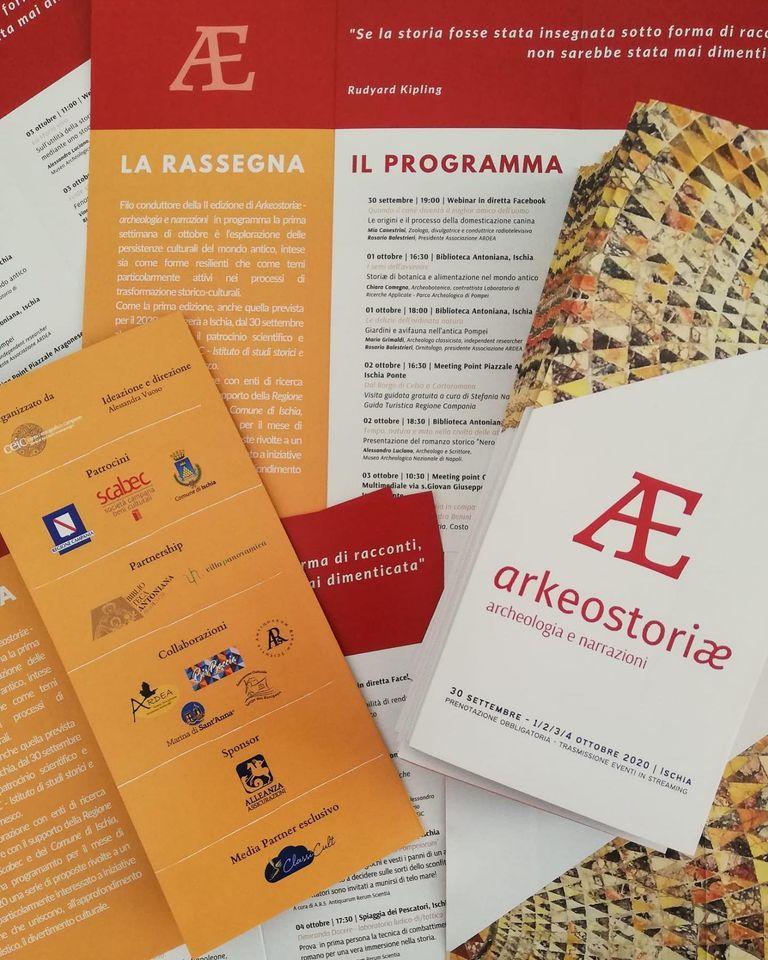 Arkeostoriae seconda edizione