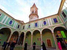 Primo Chiostro Complesso Monumentale di San Pietro Università degli studi di Perugia