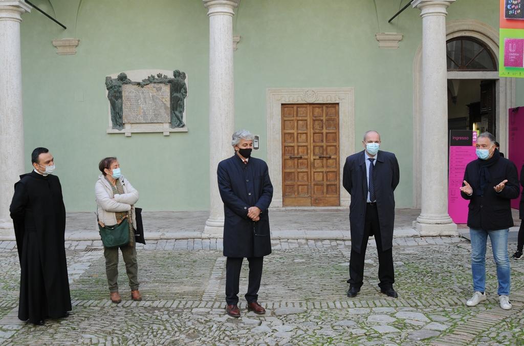 Primo chiostro San Pietro
