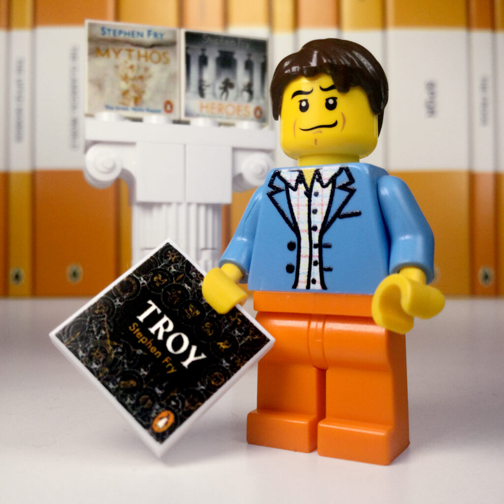 Stephen Fry LEGO Classicist