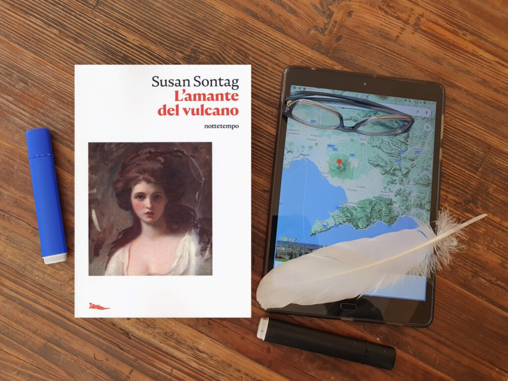 amante del vulcano L'amante del vulcano romanzo storico di Susan Sontag