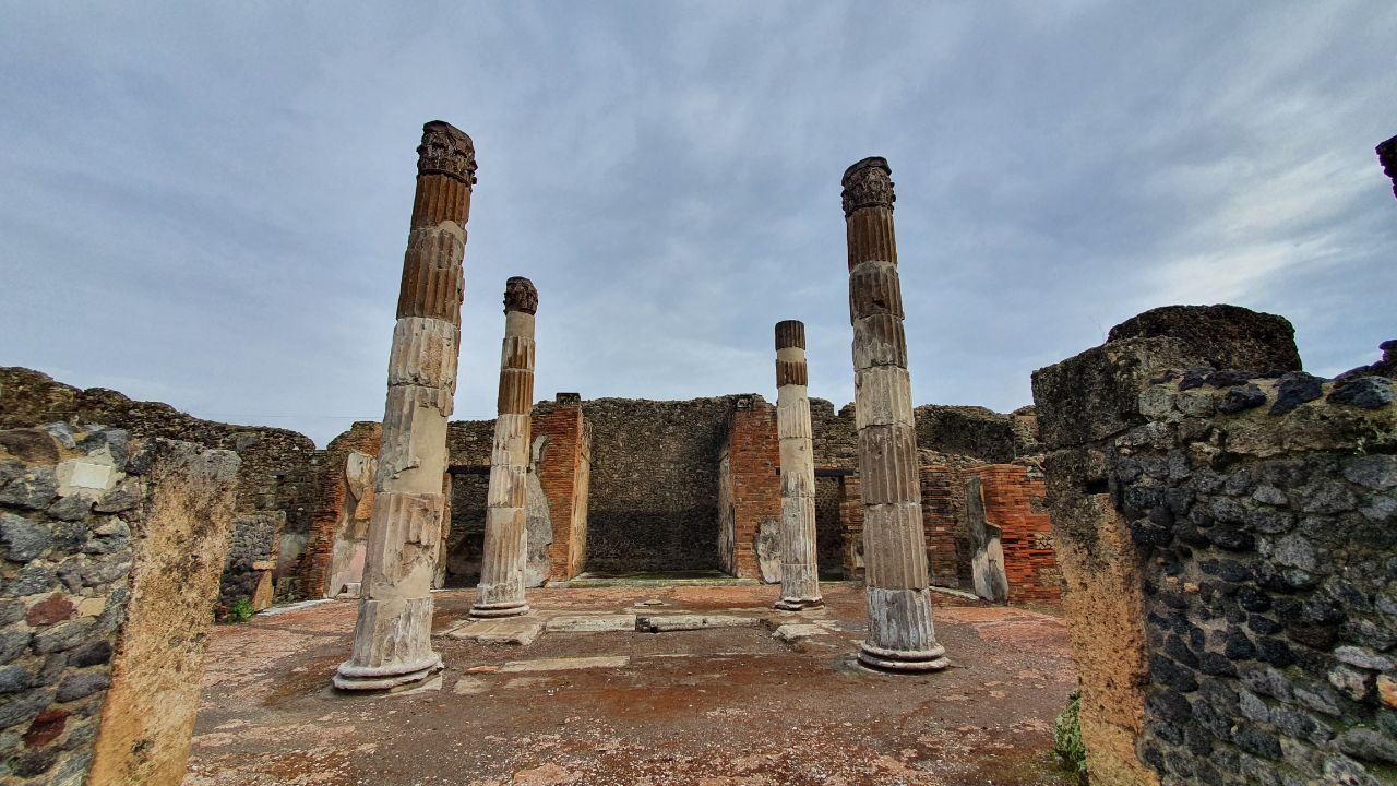 colonne Casa del Fauno