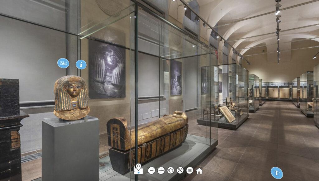 virtual tour tomba di Kha Deir el-Medina Museo Egizio di Torino