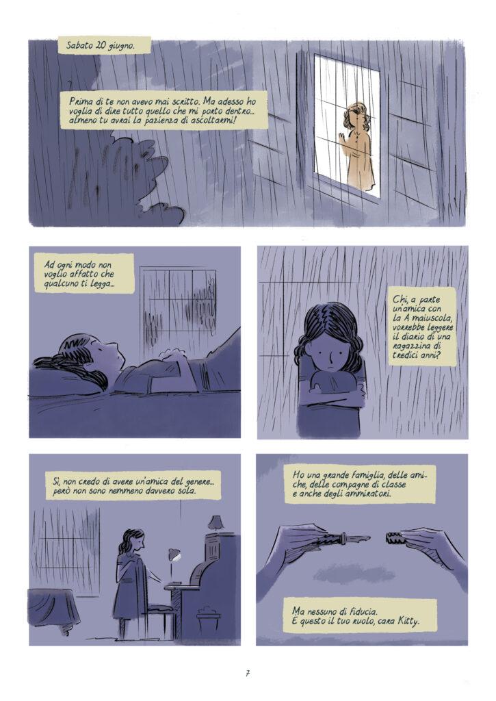 Anne Frank fumetti