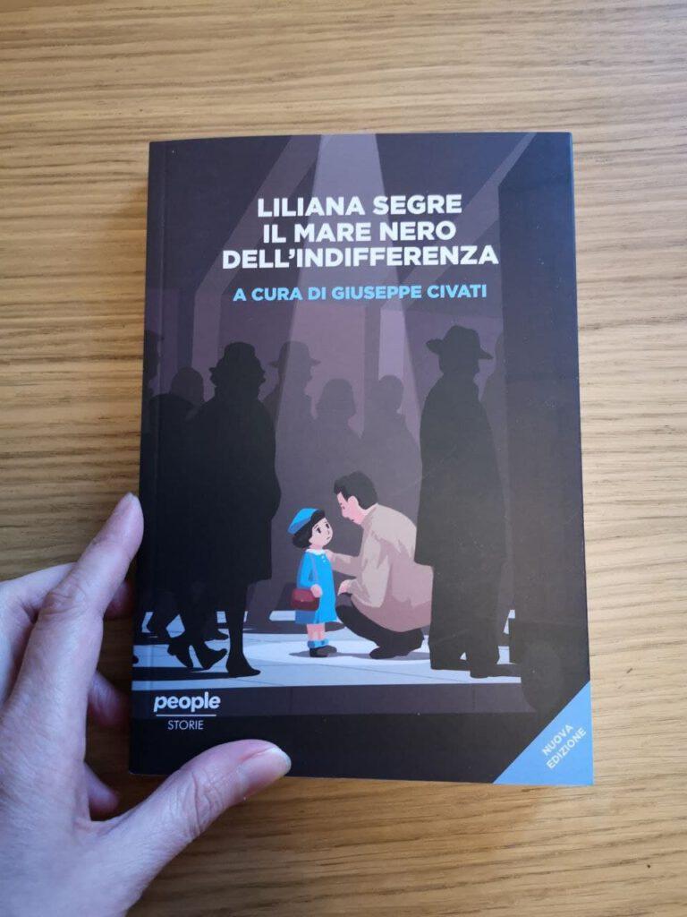 Liliana Segre il mare nero dell'indifferenza